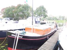 13m converted Dutch Fishing boat