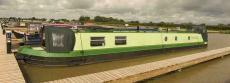 60 ft cruiser narrowboat (liveaboard)