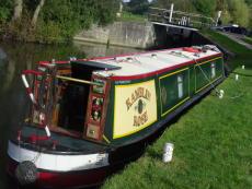 50' trad stern 2-berth narrowboat