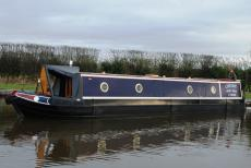 Cheviot - 2008 Piper 47' Narrowboat