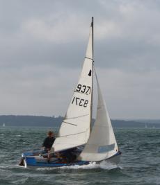 GP14 fibreglass hull