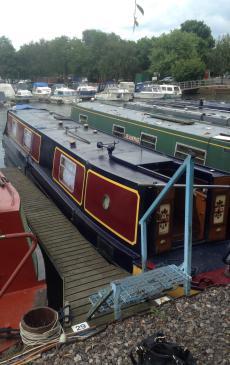 40ft R & D Fabrications narrowboat