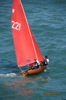 National Redwing classic wooden dinghy