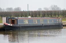 58ft Semi Trad Stern Narrowboat