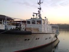 Large hydrographic survey boat