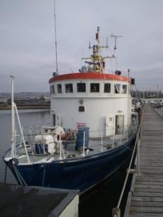 106ft ex Echo class Inshore Survey Vessel - ideal to convert