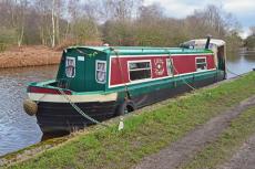 30ft Cruiser Stern Narrowboat
