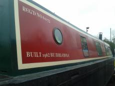 38 FOOT RIVITED STEEL NARROWBOAT