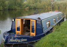 Widebeam narrowboat 60ft x 10ft Aqualine