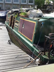 Residential Mooring London - 38ft Narrowboat
