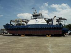 20mtr Shallow Draft Work Boat (seismic)