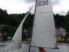 Laser 3000 sailing dinghy
