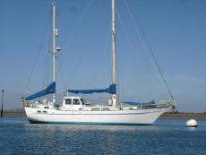 42ft steel yacht Buchanan ketch