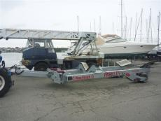 Used 15ton boat moving trailer