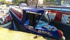 55ft Traditional narrowboat