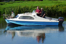 Shetland 535 with 50hp Mariner outboard