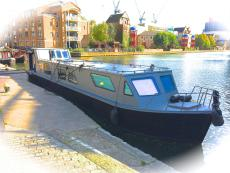 Stunning Modern Widebeam Houseboat