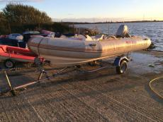 4m Narwhale RIB for sale