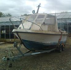 Boat, Out board and Trailer