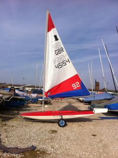 Topper Sprint XL, Sail No 45154