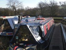 50ft cruiser stern narrow boat