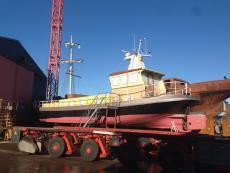 Live a board, ex Passenger vessel, dry dock 2015