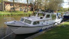 9.25 Mtr Dutch Steel River Cruiser