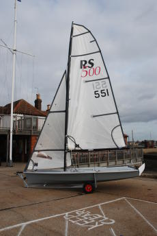 RS 500 Sail Number 551