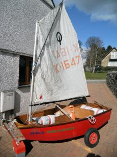 For Sale - Ready to sail Optimist wooden