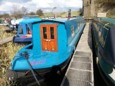 55' Narrowboat Dulci