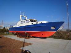 Aluminium West German Police boat