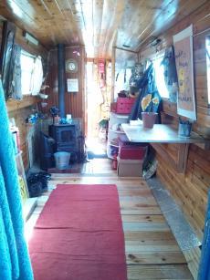 30 foot narrowboat. Springer. Needs work