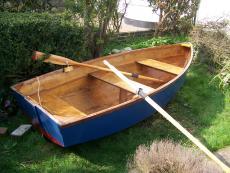 ten foot wooden rowing dingy