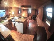 Live Aboard Barge