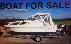 Shetland saker boat