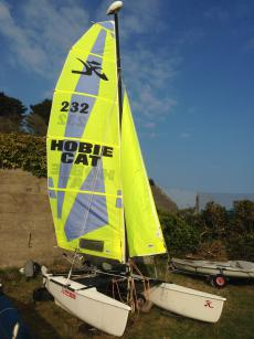 Hobie Dragoon Extreme with Road Trailer