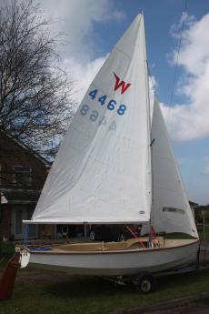 Wayfarer Mrk ll, 1975, new sails