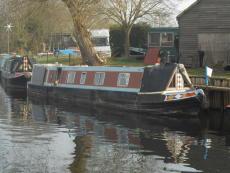 super traditional narrowboat