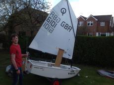 Optimist 6101 Winner Team boat