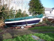 E boat 22ft long