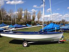Wayfarer Dinghy Ready to Sail