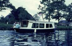 29 ft x 11 ft canal boat