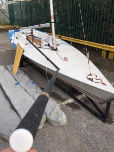 Contender  sail no 574