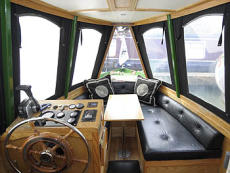 BOUDICCA: 57ft 7in Stowe Hill Marine semi-trad inspection launch