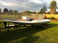 Flat Deck Bass Boat