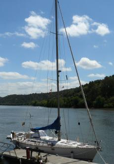 Sun Kiss 47 yacht