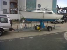 Jaguar 21 Finn keel sailboat