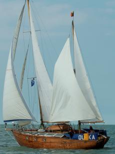 Classic sailing yacht, maritime heritage