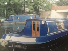 50ft Calcutta, Narrowboat Cruiser Stern