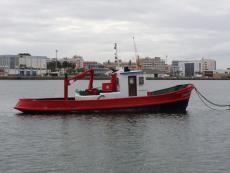 14 meter steel workboat /diver 290 HP